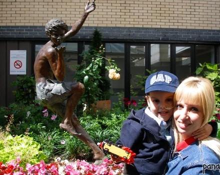 Ο Peter Pan στο Great Ormond Street Hospital